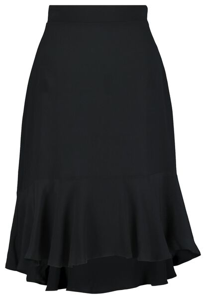 damesrok zwart XL - 36278109 - HEMA