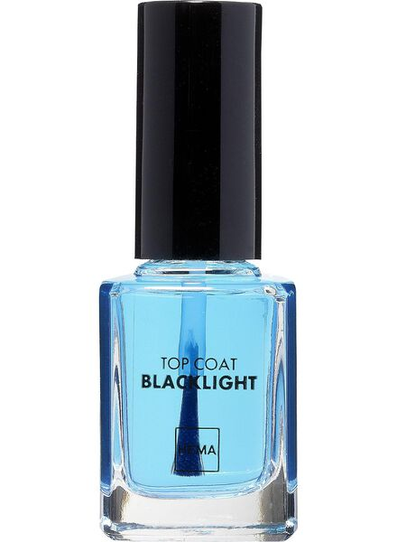 top coat nailpolish blacklight - 11244521 - HEMA