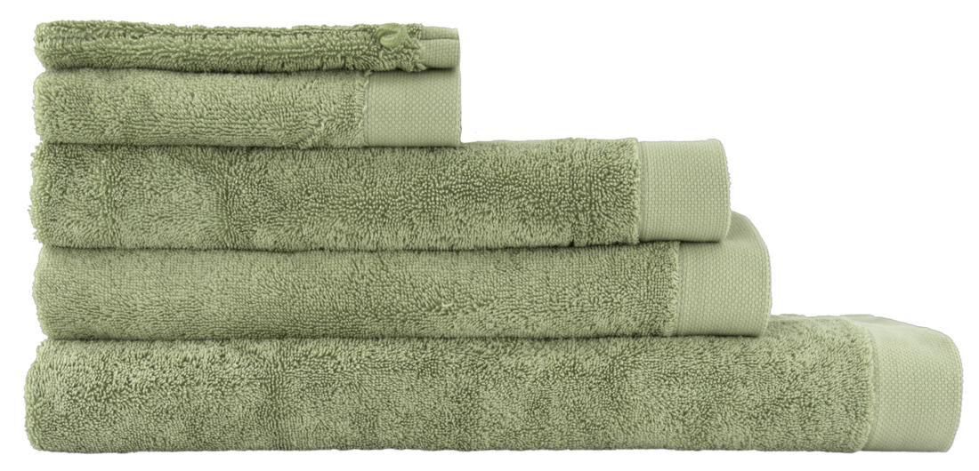 HEMA Handdoeken - Hotel Extra Zacht Lichtgroen (lichtgroen)