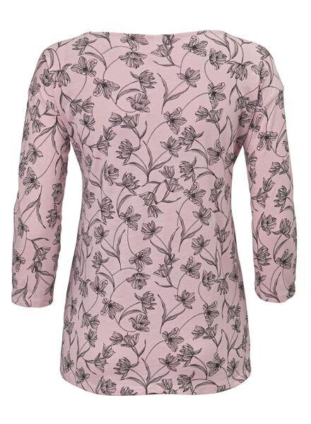 dames t-shirt lichtroze lichtroze - 1000012466 - HEMA
