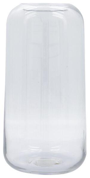 vaas Ø15x28 recycled glas - 13311062 - HEMA