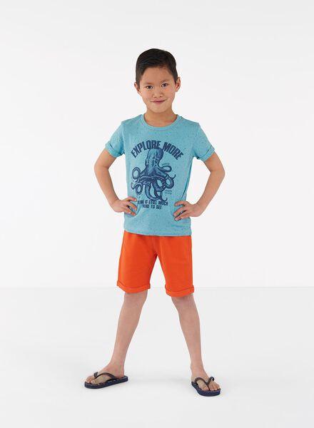 kinder t-shirt groen groen - 1000013280 - HEMA
