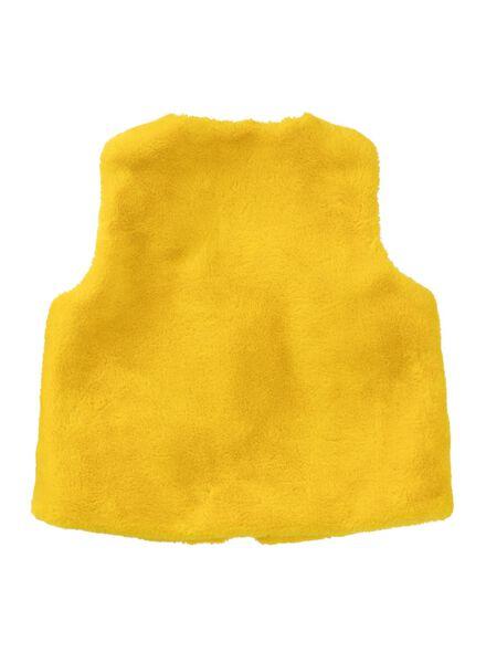 kinder gilet geel geel - 1000010337 - HEMA