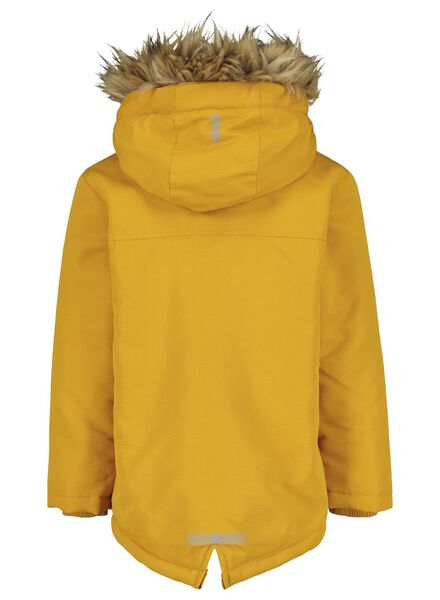 kinderjas met capuchon okergeel okergeel - 1000015028 - HEMA