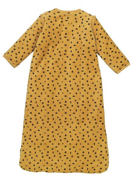 babyslaapzak padded - afritsmouw geel geel - 1000015087 - HEMA