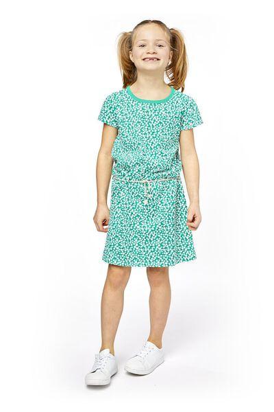 kinderjurk groen groen - 1000018983 - HEMA