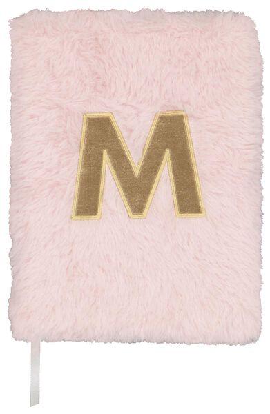 Notitieboek A5 fluffy letter M