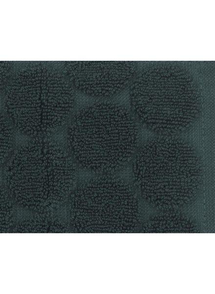 handdoek - 50 x 100 cm - zware kwaliteit - donkergroen stip donkergroen handdoek 50 x 100 - 5220017 - HEMA