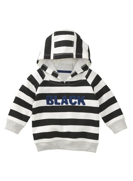 babysweater zwart zwart - 1000008886 - HEMA
