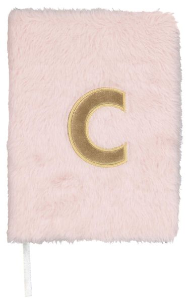 Notitieboek A5 fluffy letter C