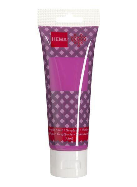 acrylverf roze 75 ml - 15921011 - HEMA