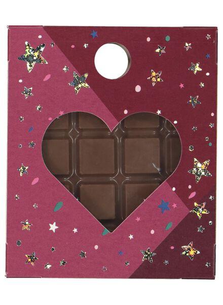 chocolade hanger hart - 60990027 - HEMA