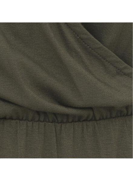 damesjurk legergroen legergroen - 1000008847 - HEMA
