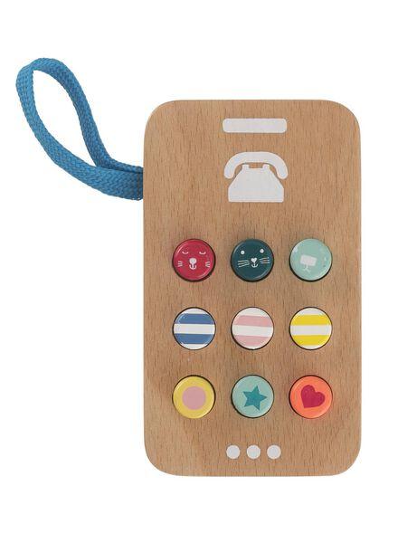 houten telefoon - 15122384 - HEMA