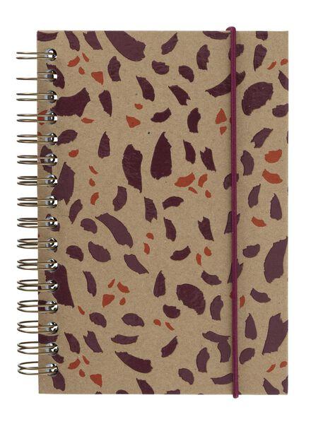 notitieboek A6 gelinieerd - 14101298 - HEMA