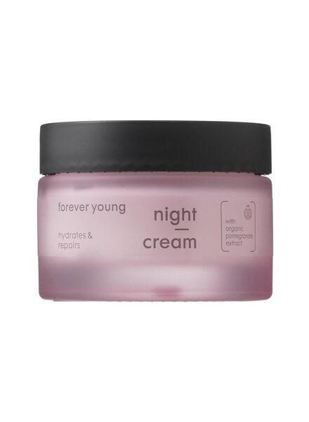 nachtcrème forever young vanaf 40 jaar - 17870041 - HEMA
