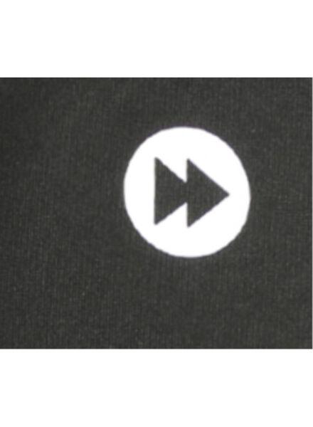 kinder sportbroek zwart zwart - 1000003053 - HEMA
