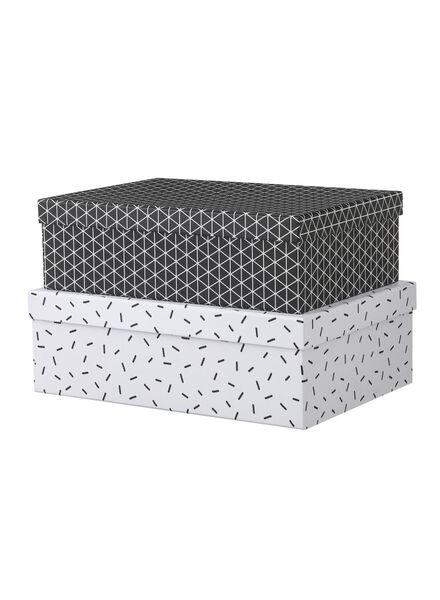 2-pak kartonnen dozen - 39880210 - HEMA