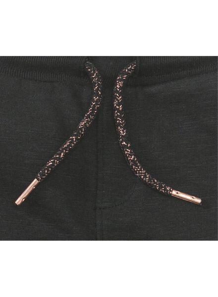 kinder sweatbroek zwart zwart - 1000013492 - HEMA