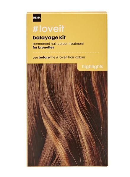 balayage kit brunettes - 11030005 - HEMA
