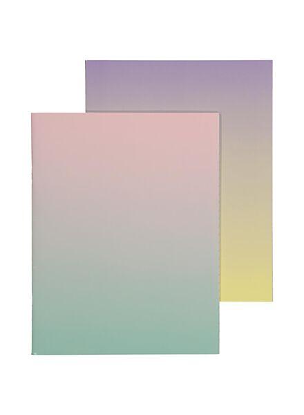 schriften 16.5 x 21 cm - gelinieerd - 5 stuks - 14501403 - HEMA