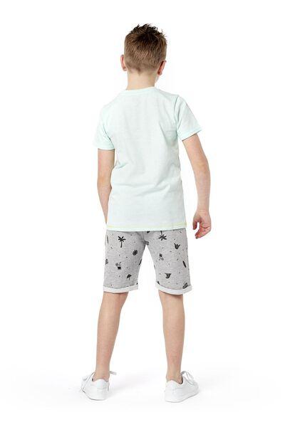 kinder t-shirt blauw blauw - 1000019157 - HEMA