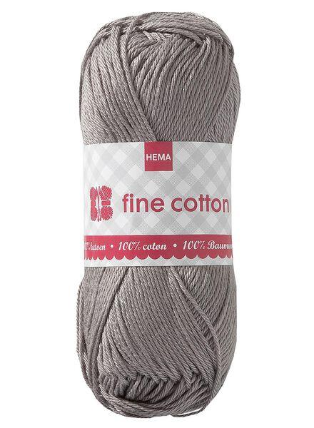 breigaren fine cotton fine cotton lichtbruin - 1400014 - HEMA
