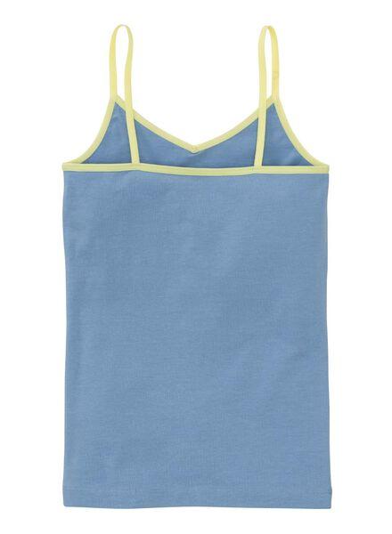2-pak kinder hemden blauw - 1000001492 - HEMA