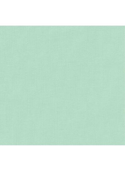 romper organic katoen stretch mintgroen mintgroen - 1000011456 - HEMA