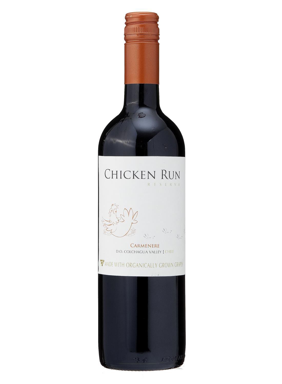 Chicken Run Chicken Run Carmenere Biologisch - 0,75 L