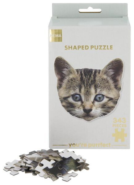 puzzel kat 343 stukjes - 61140173 - HEMA