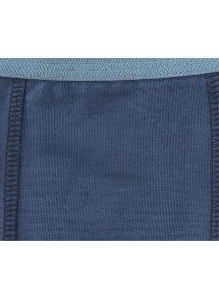 3-pak kinderboxers blauw - 1000006504 - HEMA