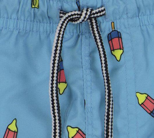 kinderzwemshort lichtblauw 110/116 - 22281708 - HEMA