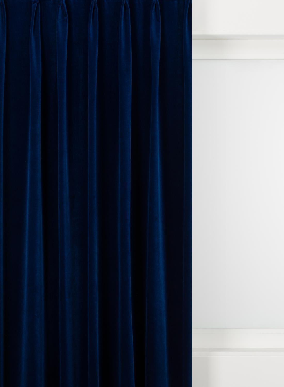 hema gordijnstof velours bleu voor wonen en slapen kopen