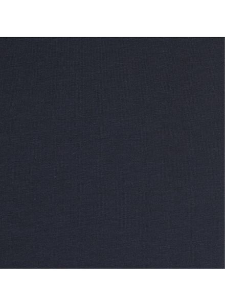 dames t-shirt donkerblauw L - 36301767 - HEMA