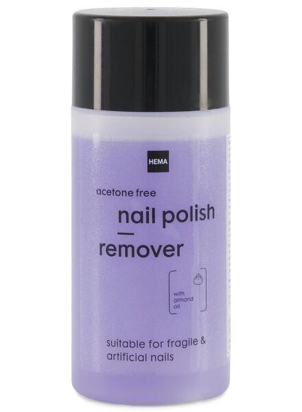 milde nagellak remover - 125 ml - 11243082 - HEMA