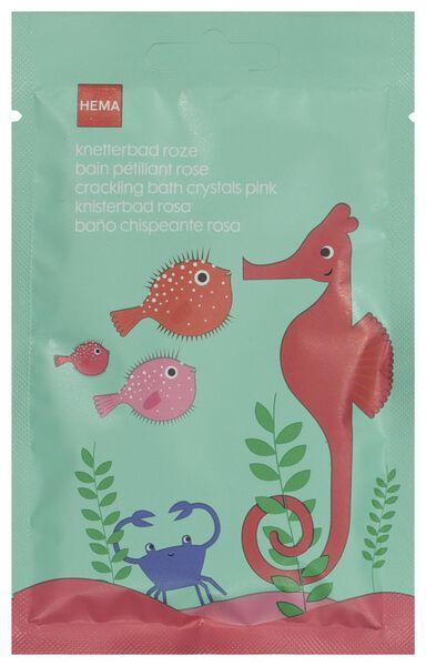 knetterbadzout roze 50 gram - 11342121 - HEMA