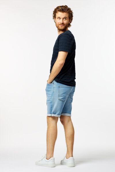 heren t-shirt donkerblauw donkerblauw - 1000023614 - HEMA