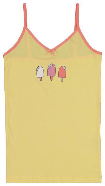 2-pak kinderhemden geel geel - 1000018431 - HEMA