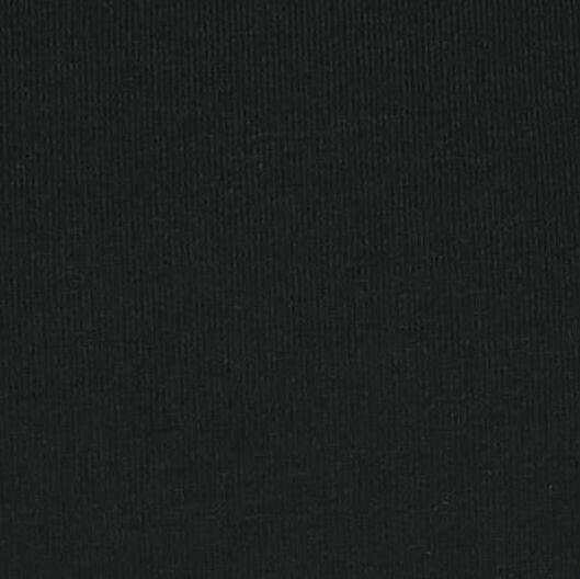 kinder t-shirt zwart zwart - 1000018007 - HEMA