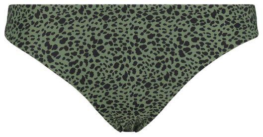 dames bikinislip legergroen XL - 22311574 - HEMA