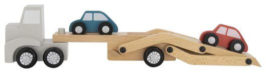 truck met auto's hout - 15130112 - HEMA