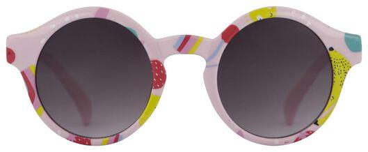 kinder zonnebril fruit roze - 12500181 - HEMA