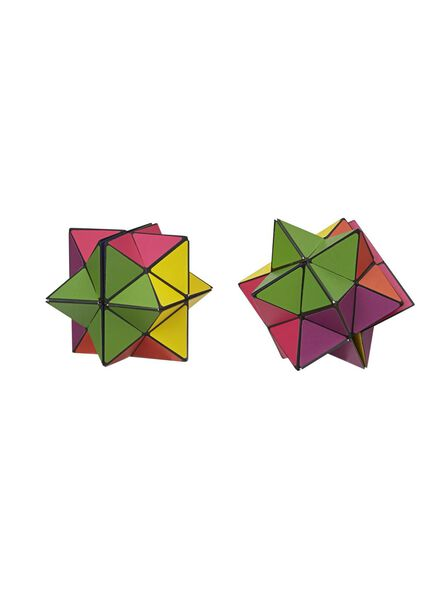 2-pak magische kubus puzzels - 15190172 - HEMA