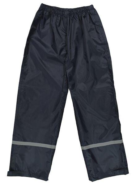 regenbroek voor kinderen donkerblauw donkerblauw - 1000014936 - HEMA