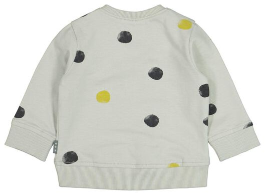 newborn sweater stippen blauw - 1000021189 - HEMA