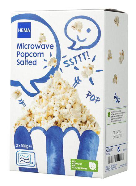 microwave popcorn zout - 10661130 - HEMA