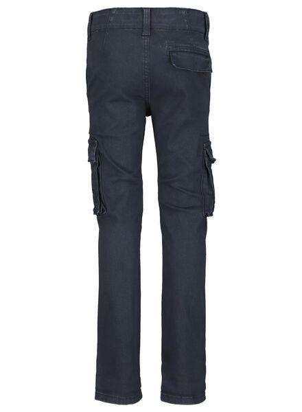 kinder jeans skinny fit donkerblauw donkerblauw - 1000015009 - HEMA