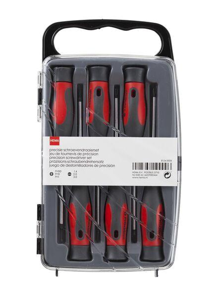 precisie schroevendraaierset - 81040028 - HEMA