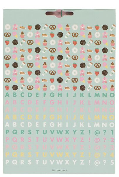 stickerboek bakker - 15970039 - HEMA